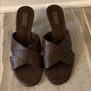 Brown Franco Sarto Heel